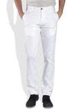 Parx White Men Trouser