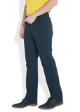 Parx Blue Men's Trouser