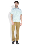 Parx Beige Men Trouser