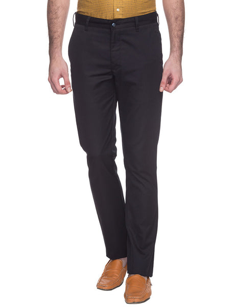 Parx Fancy Blue Men's Trouser