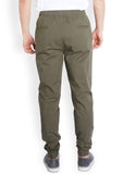 Parx Green Men Trouser