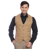 Parx Beige Men Jackets