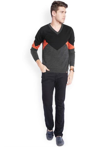 Parx Dark Orange Men's Winterwear