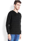 Parx Black Men's Winterwear