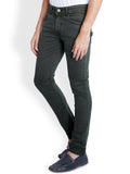 Parx Dark Green Men's Jeans