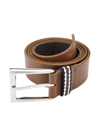 Parx Beige Leather Belts