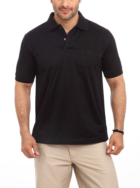 ColorPlus Black Men's T-Shirt