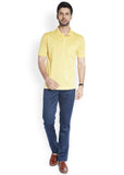 ColorPlus Yellow Men's T-Shirt