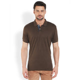 ColorPlus Medium Brown Men's T-Shirt