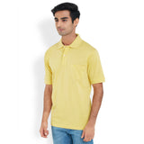 ColorPlus Light Yellow Men's T-Shirt