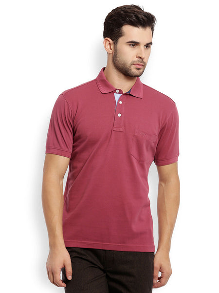 ColorPlus Light Maroon Men's T-Shirt
