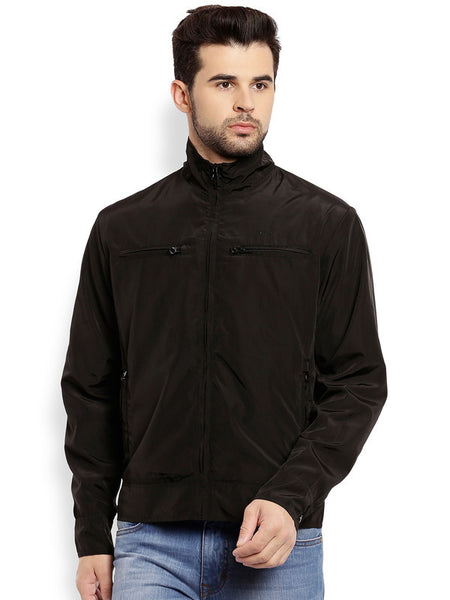 ColorPlus Black Men's Jackets