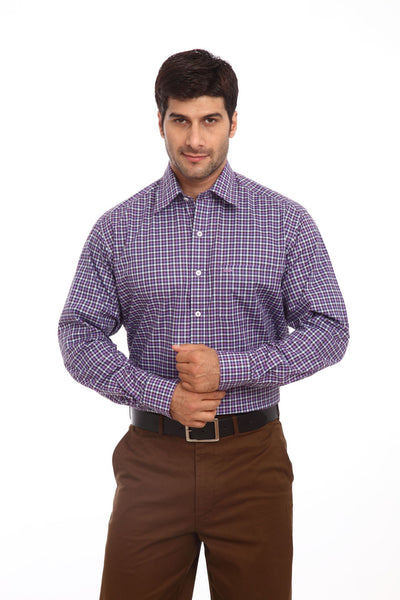Colorplus Purple Men Shirts