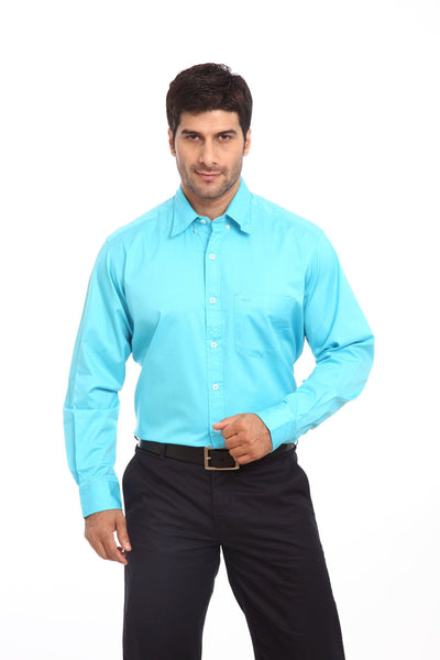 Colorplus Blue Men Shirts