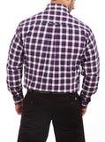 Colorplus Purple Men Shirt