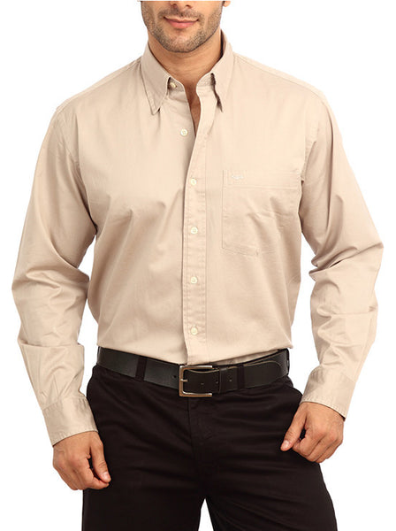 ColorPlus Light Grey Men's Shirt