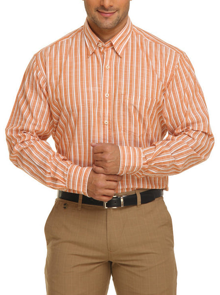 Colorplus Orange Men Shirt