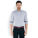 ColorPlus Medium Blue Men's Shirt