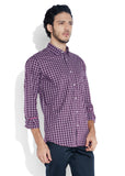 ColorPlus Maroon Men Shirt