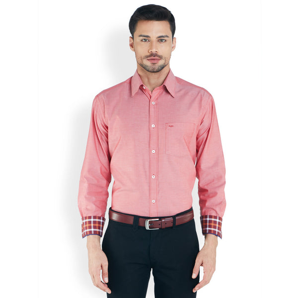 ColorPlus Medium Red Men's Shirt