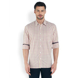 ColorPlus Beige Men's Shirt