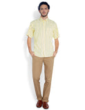 ColorPlus Yellow Men Shirt