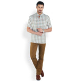 ColorPlus Medium Brown Men's Shirt