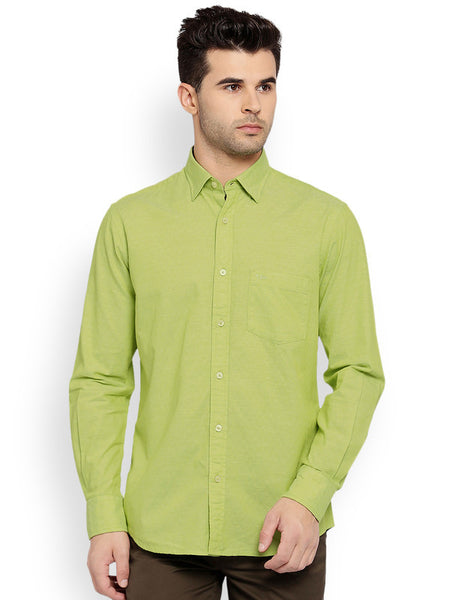 ColorPlus Medium Green Men's Shirt