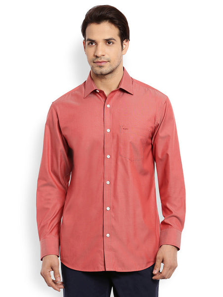 ColorPlus Medium Orange Men's Shirt