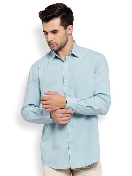 ColorPlus Light Blue Men's Shirt