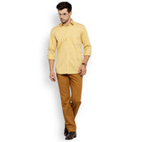 ColorPlus Yellow Men's Shirt