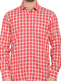 ColorPlus Dark Red Men's Shirt