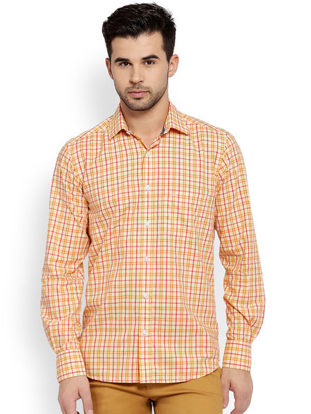 ColorPlus Medium Yellow Men's Shirt