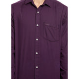 ColorPlus Purple Men's Shirt