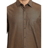 ColorPlus Brown Men's Shirt