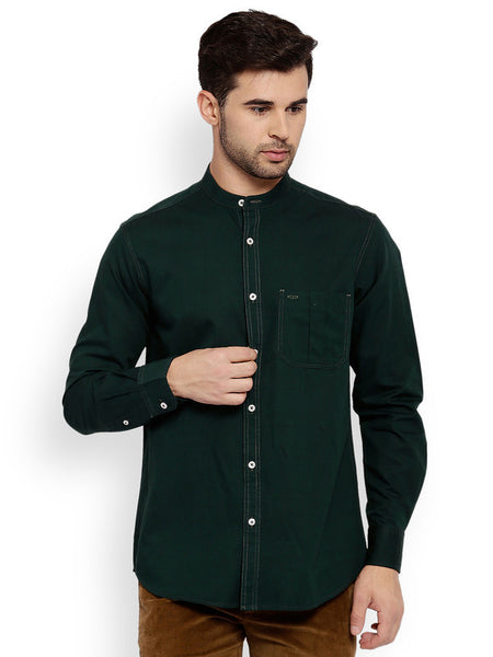 ColorPlus Dark Green Men's Shirt