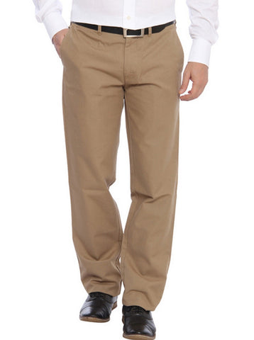 Color Plus Beige Trouser