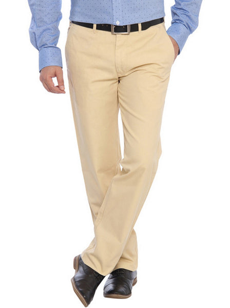 Color Plus Yellow Trouser