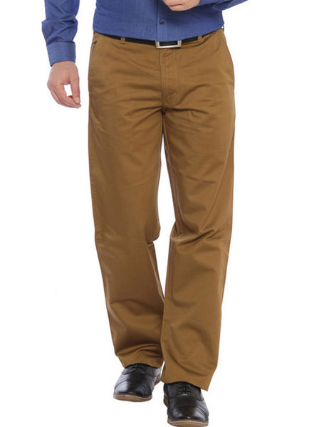 Color Plus Brown Trouser