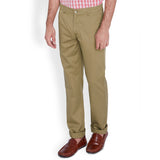 ColorPlus Beige Men's Trouser