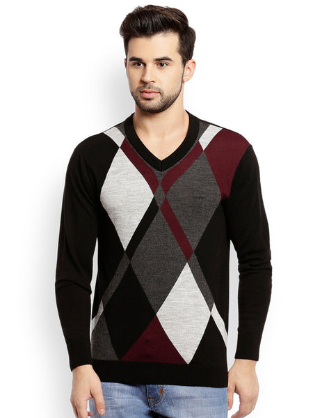 ColorPlus Medium Maroon Men's Sweater