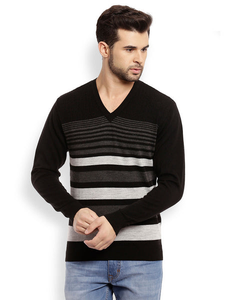 ColorPlus Black Men's Sweater