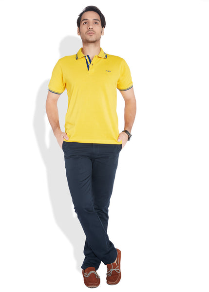 ColorPlus Yellow Men T-Shirt