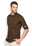 Colorplus Brown Men Shirts