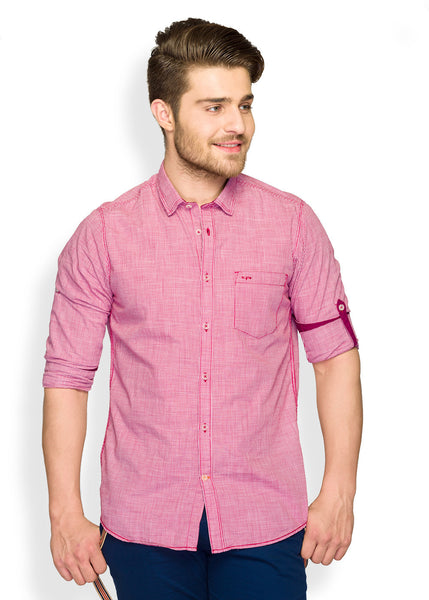 ColorPlus Red Men Shirt