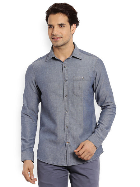 ColorPlus Medium Indigo Men's Shirt