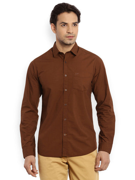 ColorPlus Medium Fawn Men's Shirt