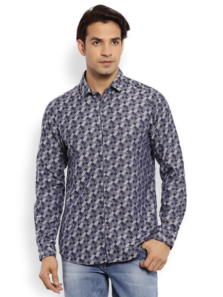 ColorPlus Dark Indigo Men's Shirt