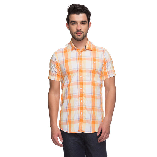 ColorPlus Orange Men's Shirt