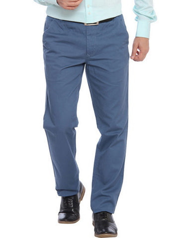 Color Plus Blue Trouser